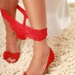 Red dress — Stock Photo #2803961