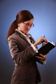 Young business-woman — Stock Photo