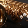 Part of sax — Stock Photo