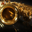 Sax on black — Stock Photo #2843547