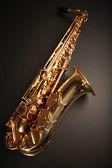 Shiny sax — Stock Photo