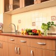 Cosy kitchen — Stock Photo
