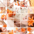 collage orange — Photo