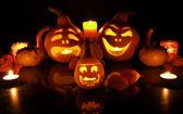 Halloween pumpkins — Стоковое фото