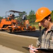 Road works - Stockfoto
