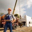 Builder inspector — Stock Photo