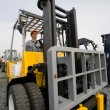 Operator forklift — Stock Photo