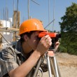 Builder and level — Stock Photo #2716804