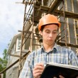 Building inspector — Stock Photo #2717862