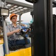 Royalty-Free Stock Photo: Operator forklift