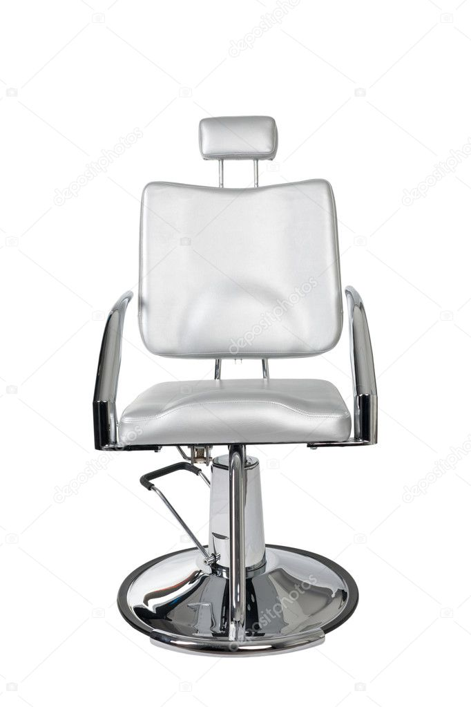Special makeup artist chair isolated on white. — Stock Photo #3262927