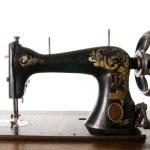 Vintage sewing machine — Stock Photo