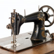 Vintage sewing machine — Stock Photo