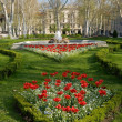 Zrinjevac park in Zagreb, Croatia — Stock Photo