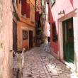 street of rovinj, croatia — Stock Photo