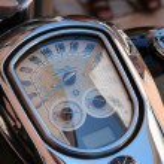 Motocycle detail — Stock Photo #3274041