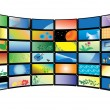 Vector color tv monitors — Stock Vector #2941441