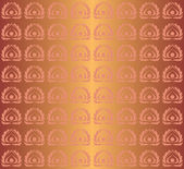 Vector seamless copper pattern — Vector de stock