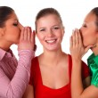 Three happy friends — Stock Photo
