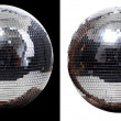 Stock Photo: Two disco ball