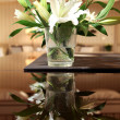 Flowers on the table — Stock Photo