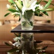 Stock Photo: Flowers on the table