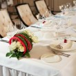 Stock Photo: Wedding table