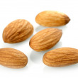 Almonds isolated on white background — Stock Photo #3339813