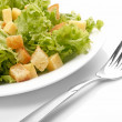 Royalty-Free Stock Photo: Close-up of salad on white plate