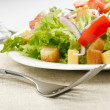 Royalty-Free Stock Photo: Salad on white plate