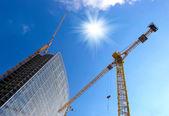 Construction work site — Stockfoto