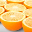 Stock Photo: Orange halves