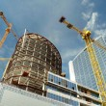Construction work site — Stock Photo