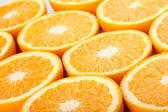 Orange hälften — Stockfoto