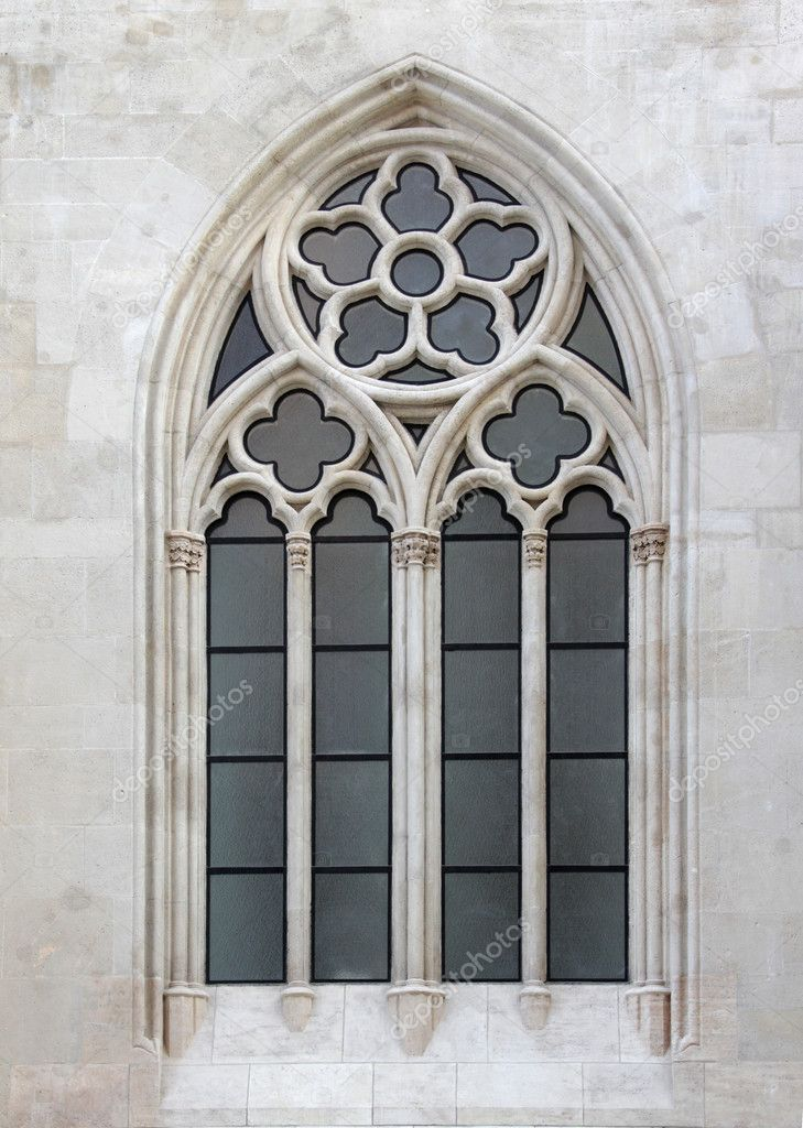 gothic window stock photo gallofoto 2772349. Black Bedroom Furniture Sets. Home Design Ideas