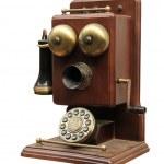 oude telefoon — Stockfoto