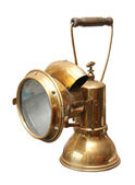 Mining lamp — Stock Photo