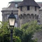 Castle lamp — Stock Photo