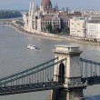 Stock Photo: Chain bridge
