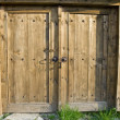 Wooden door — Stock Photo