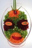 Salad `Vegetable alien` — Stock Photo