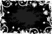 Grunge blumen hintergrund — Stockvektor