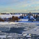 Icy Baltic sea Helsinki — Stock Photo