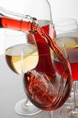 Rode wijn — Stockfoto