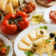 Antipasto, italian appetizer food - Foto Stock