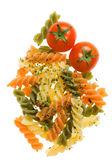 Pasta italiana tricolore — Foto de Stock