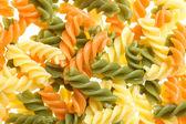 Italian pasta tricolore — Stock Photo