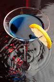 голубой коктейль — Стоковое фото