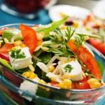 Cheese salad — Stock Photo #3124374