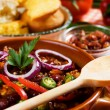 Stock Photo: Mexican chili con carne